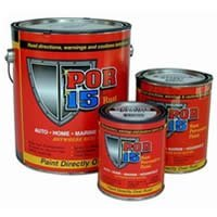POR-15 Rust Preventive Paint - Black - Quart POR15 by POR-15