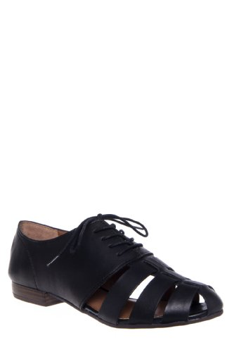 Lucky Brand Garsone Caged Oxford Flat Shoe