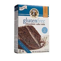 King Arthur Flour Cake Mix Gluten Free Chocolate -- 22 oz