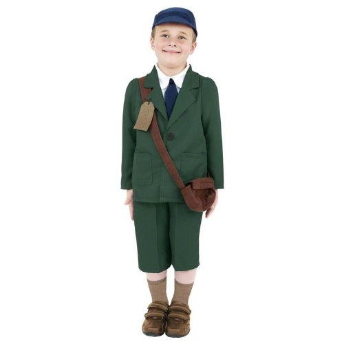 40's School Boy Costume 7 - 9 Years 38669 7-9 Years By Smiffy's