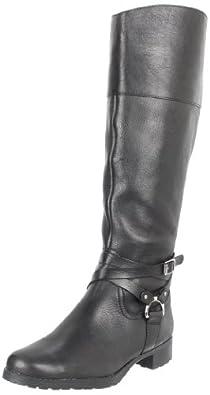 Lauren Ralph Lauren Women's Sonya Boot,Black,7 B US