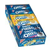 Oreo Variety 12 Packs- 4 Oreo, 4 Double Stuff Oreo, 4 Golden Oreo (1 Box)