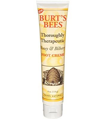 Burt's Bees Thoroughly Therapeutic Honey & Bilberry Foot Creme 4 oz.