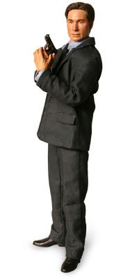 Picture of Sideshow Fox Mulder 12 Inch Figure from the X-Files ( Sideshow Toy ) (B000NLX74W) (Sideshow Action Figures)