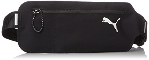 [プーマ] PUMA ウエストバッグ PR Flat Waist Bag 073577 01 (ブラック/ブラック)