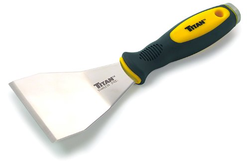 "Titan Tools 11504 3"" Offset Stainless Steel Scraper"