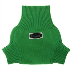 Imagine Baby Products Knit Wool Cover, Emerald, Small