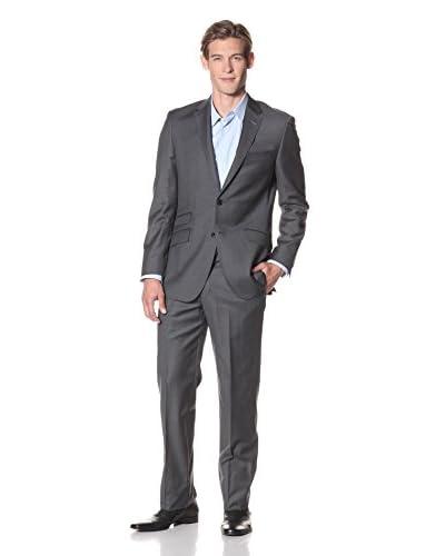 English Laundry Men's Slim Fit Solid Suit