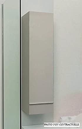 Aqua +–Colonna Bagno Bianca da Appendere alto. 120cm Consegnato MONTATO–Terry