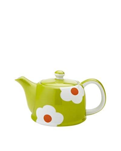 Classic Coffee & Tea by YEDI Daisy 20-Oz. Teapot, Green