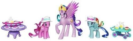 My Little Pony Pony Friends Forerver Figures - Princess Celestia & Friends Tea Time Set by Hasbro