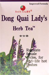 Health King Dong Quai Lady's Herb Tea 20 Tea