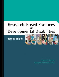Sammons Preston Researched-Based Practices In Developmental Disabilities - Second Edition front-916004