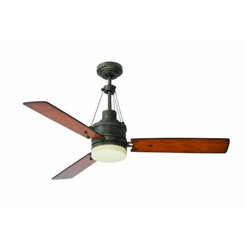 Emerson Ceiling Fans CF205VS Highpointe Modern Ceiling Fan With Light And Remote, 54-Inch Blades, Vintage Steel Finish