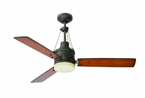 Emerson Ceiling Fans CF205VS Highpointe Modern Ceiling Fan With Light And Remote, 54-Inch Blades, Vintage Steel Finish,51 to 55 Inches (Emerson 50 Ceiling Fan compare prices)