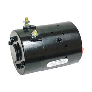 Dc Motor, 6-13/16 In. L, Wound Field, Ccwde