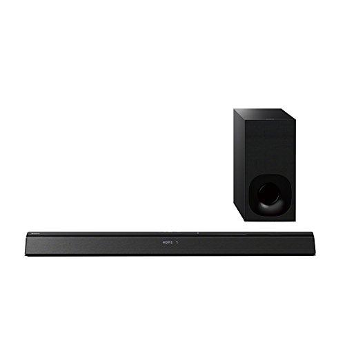 HT-CT380B 2.1-Kanal Soundbar (300 Watt, kabelloser Subwoofer, HDMI, USB, NFC, Bluetooth, virtueller Surround Sound) schwarz