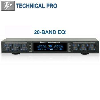 TECHNICAL PRO 2347 PROFESSIONAL EQUALIZER WITH DIGITAL SPECTRUM