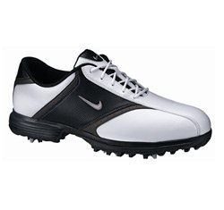 Nike Heritage Golf Shoe (Black/Metallic Silver-Black)