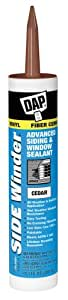 Dap 00823 Cedar Side Winder Advance Polymer Siding and Window Sealant 10.1-Ounce