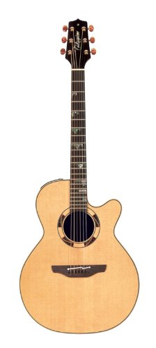 Takamine Pro Series Tsf48C Santa Fe Nex Acoustic Electric Guitar, Natural With Case