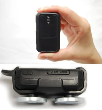 Wireless GPS Tracker Magnetic Clip Included [5 Minute Annual Service Plan Included]