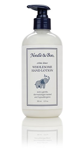 Noodle & Boo Wholesome Hand Lotion, 12-Ounce Packages