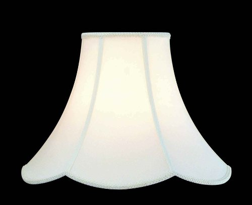 Lite Source CH107-16 Scallop with Trim Shade