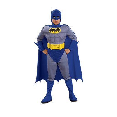 Deluxe Batman Muscle Chest Kids Costume