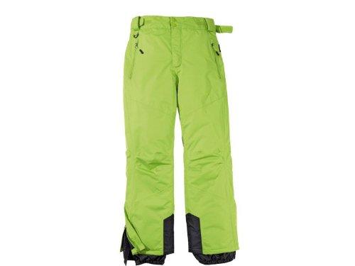 Herren Skihose Snowboardhose Winterhose Schneehose Gr. 52 Farbe: Grün günstig