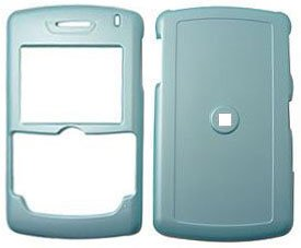 Baby Blue Hard Case Cover for Blackberry 8800 Cell Phone