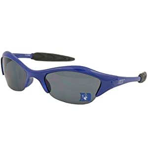 Buy NCAA Duke Blue Devils Duke Blue Half Time Sunglasses by Football Fanatics