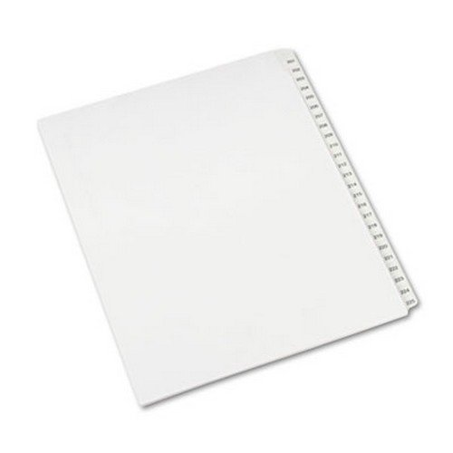 allstate-style-legal-side-tab-dividers-25-tab-201-225-letter-white-25-set-sold-as-1-set