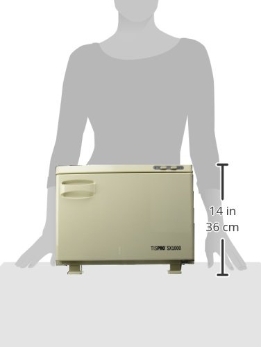 TISPRO SX1000 Hot Towel Cabinet 24 Towel Capacity