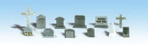 Woodland Scenics HO Tombstones WOOA1856 - 1