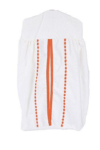 Baby Doll Unique Diaper Stacker, Orange