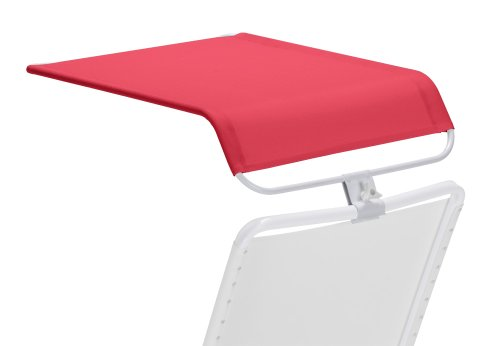 Telescope Casual Universal Shade Canopy, Red With Gloss White Frame