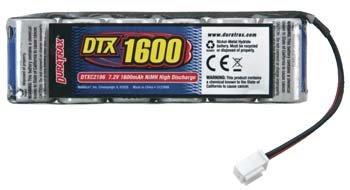 Duratrax NiMH 7.2V 1600mAh Flat RC18 Series