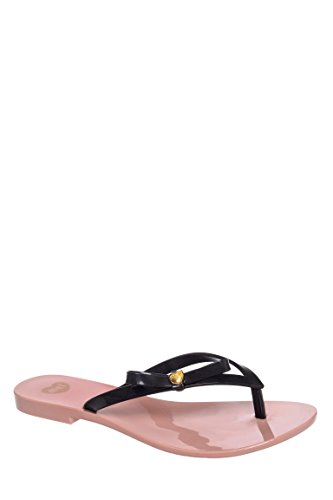 Honey IV Low Heel Flip Flop Sandal