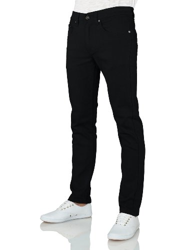 IDARBI, Victorious 937 Mens Basic Casual Colored Skinny Cott