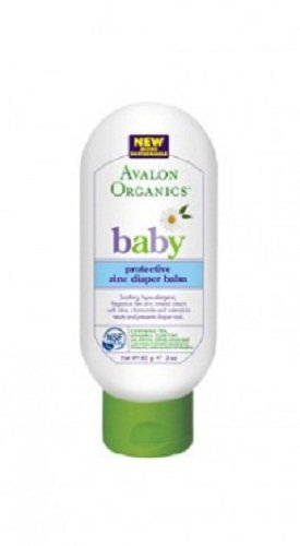 Avalon Organics Baby Protective Zinc Diaper Balm, 3 Ounce