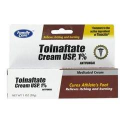 [6 Pack] Tolnaftate Cream USP 1% Antifungal Compare to Tinactin