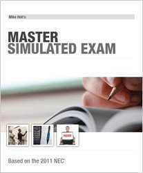 Mike Holt's Master / Contractor Simulated Exam, 2011 NEC -  - MH-11MX - ISBN:1932685715