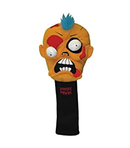Winning Edge Designs Orange Zombie 460cc Golf Headcover Fred