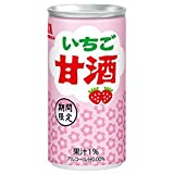 森永製菓 いちご甘酒 185g缶×30本入