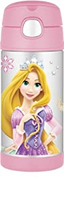 Thermos FUNtainer Bottle, Disney Princess, 12 Ounce