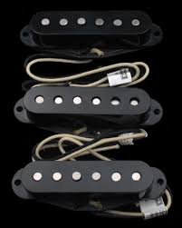 Lindy Fralin Blues Special Strat Pickup Set Of 3 Bass Plate Base Plate Black Made In Usa Or Any Other Color