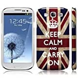 Retro Phone Co®-Original Super Slim Union Jack Retro Style,Keep Calm And Carry ON Phone-SHELL Hard Back Cover / Case for the Samsung Galaxy S4 / S IV / i9500 Mobile Phone