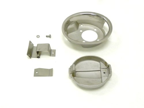 OBX Chrome Fuel Lid Door Cover Type I 90-97 Mazda Miata 1.6L 1.8L MX-5 MX5 (Miata Fuel Lid compare prices)
