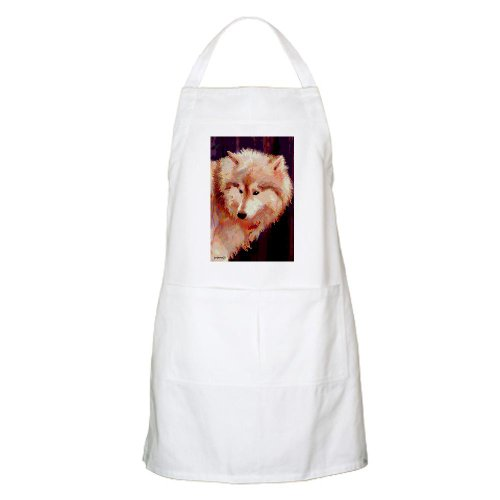 Cafepress Siberian Husky Or Wolf BBQ Apron - Standard